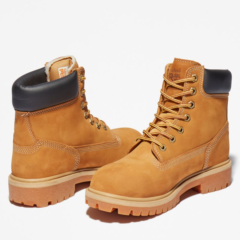 Timberland - pro 6-inch worker boot gelb - 5
