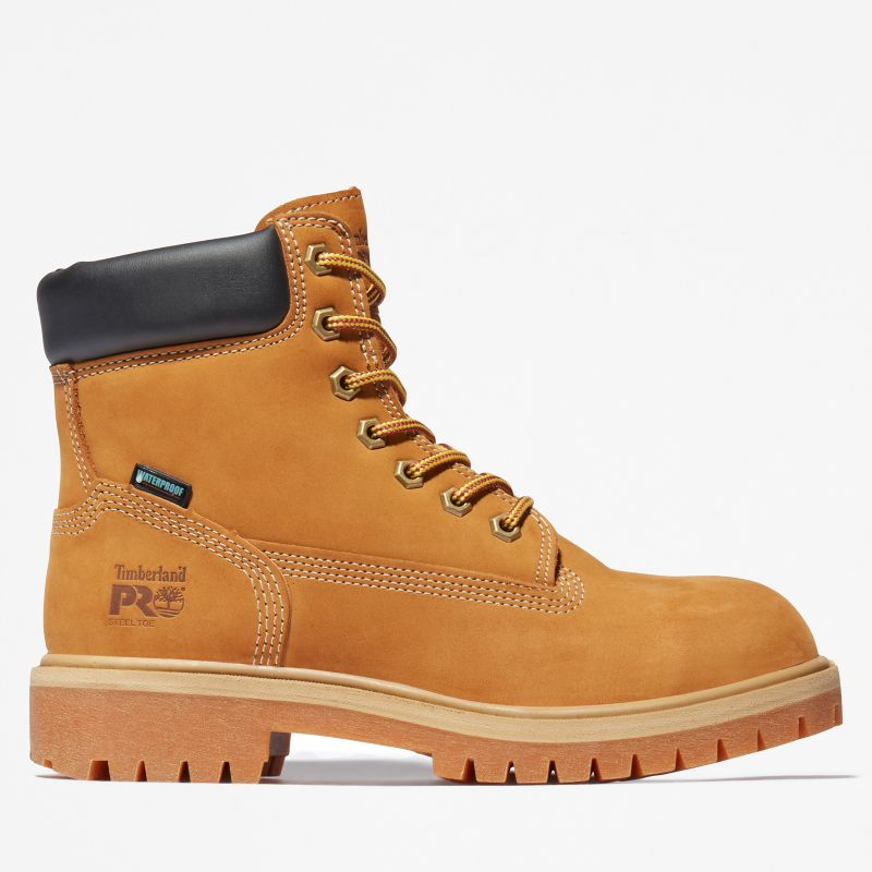 Timberland - pro 6-inch worker boot gelb - 1