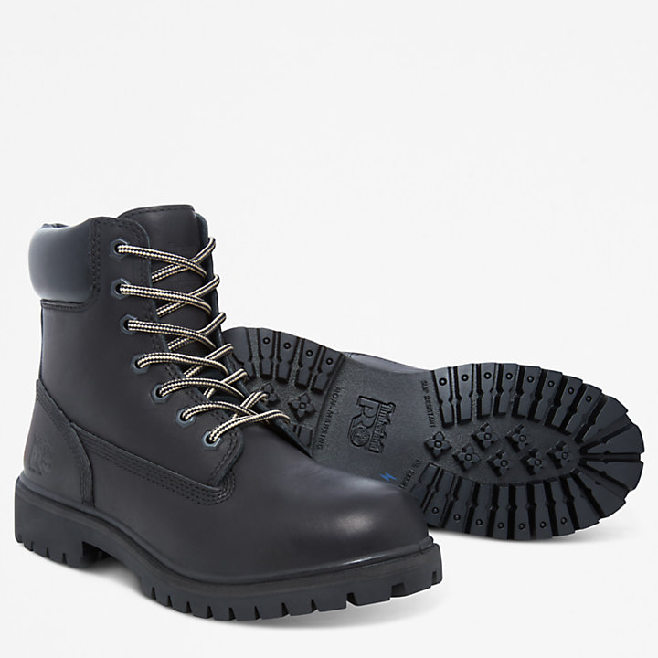 Pro 6-inch Worker Boot Zwart Dames-