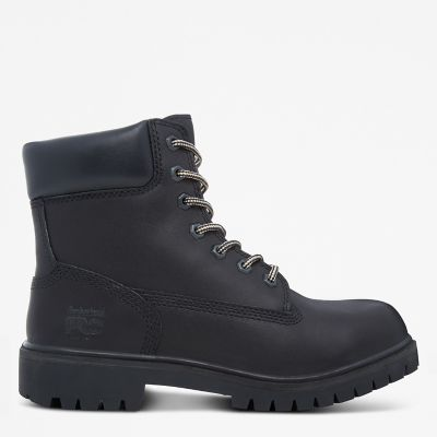Pro+6-inch+Worker+Boot+Zwart+Dames