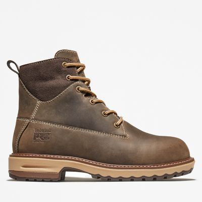 Damen+6-Inch+Hightower+Worker+Boot+Braun
