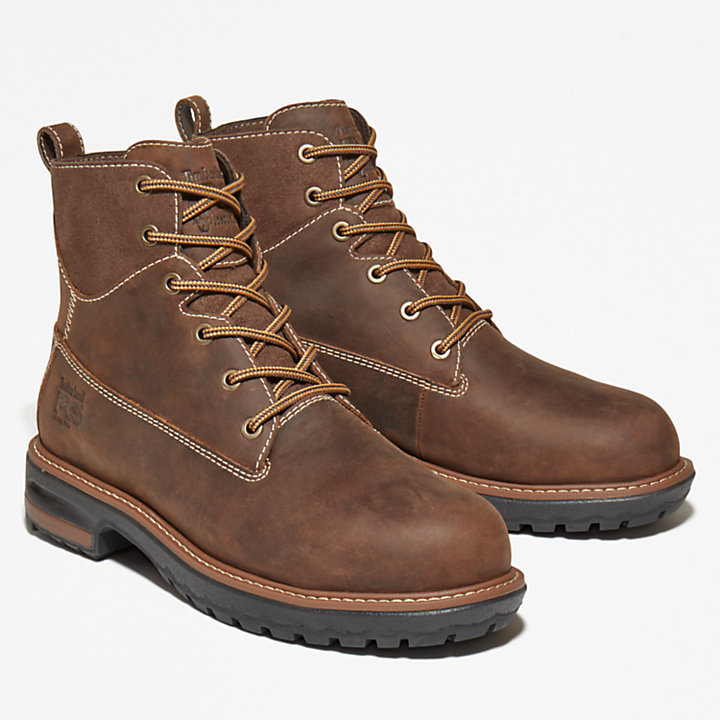 Women's 6-inch Hightower Worker Boot Brown-