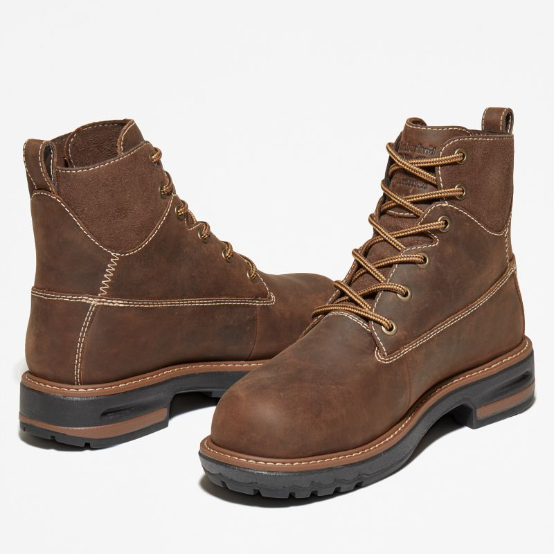 Timberland - 6-inch hightower worker boot braun - 5