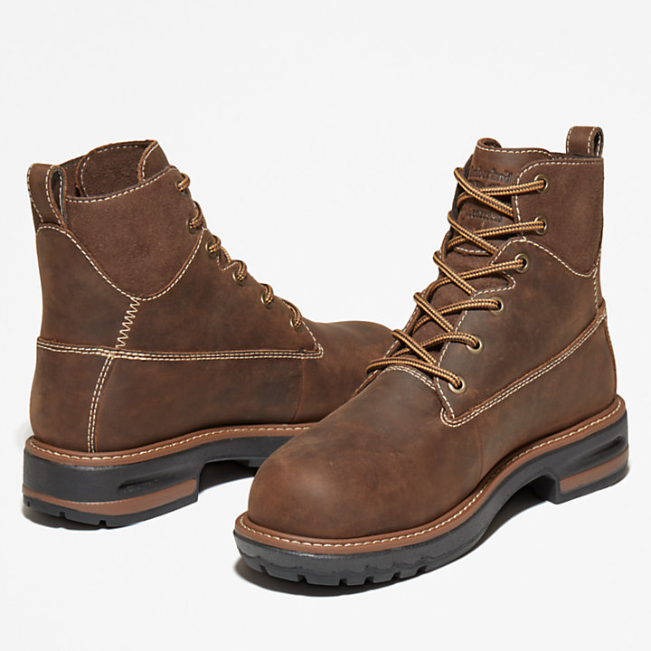Pro 6-inch Hightower Worker Boot Femme marron-