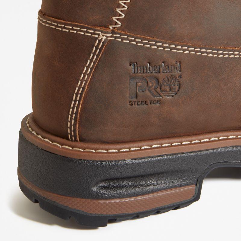 Timberland - 6-inch hightower worker boot braun - 6