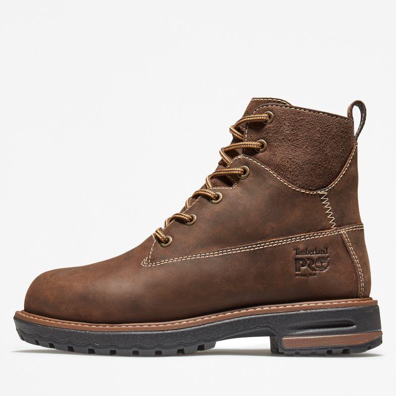 Timberland - 6-inch hightower worker boot braun - 7