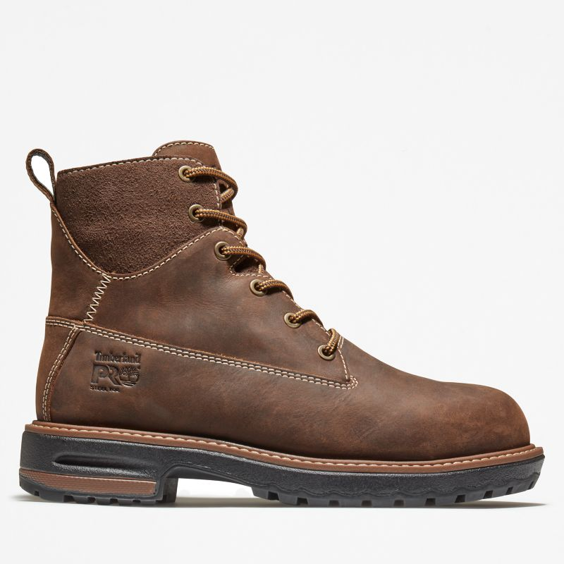 Timberland - 6-inch hightower worker boot braun - 1