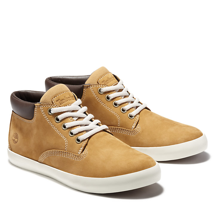 Chukka Dausette Low in giallo-