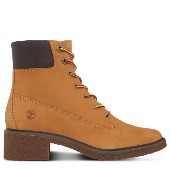 Brinda 6-Inch Lace Up Boot amarillo mujer | Timberland