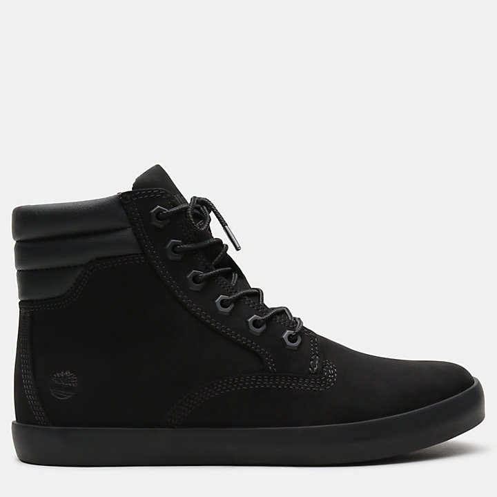 Dausette High Top Sneakers for Women in Black-