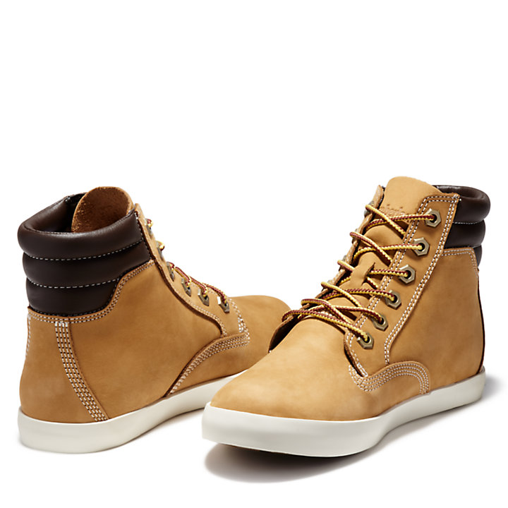Dausette High Top Sneakers for Women in Yellow-