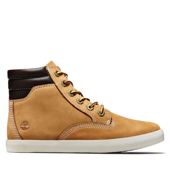 Dausette High Top Sneakers for Women in Yellow | Timberland