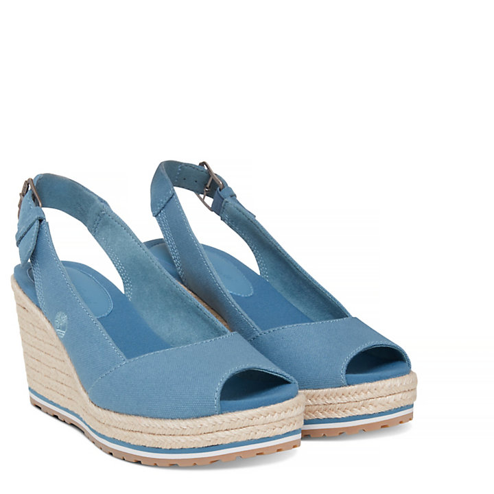 Women's Nice Coast Slingback Sandal Blue-