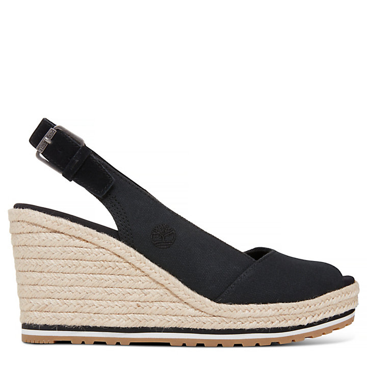 Nice Coast Slingback Sandal noire Femme-