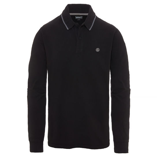 Men's Millers River Polo Shirt Black | Timberland