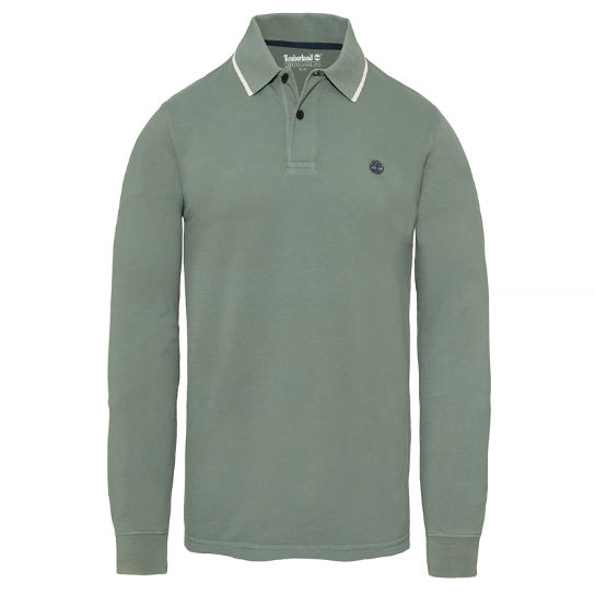 Men's Millers River Polo Shirt Green | Timberland