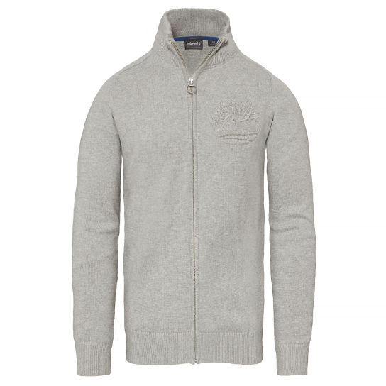 Herren Stop River Logo Full Zip Top | Timberland
