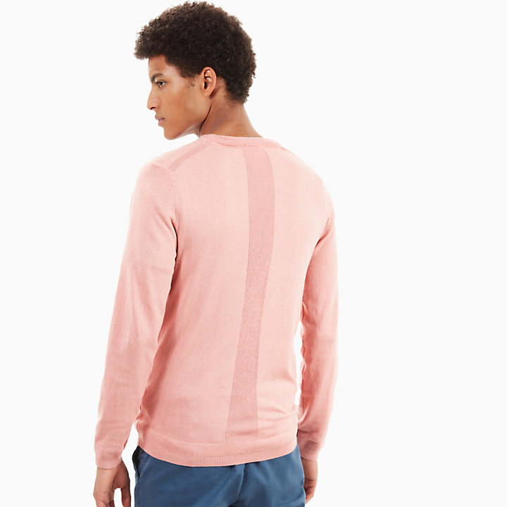 Saxton's River Silk Blend Sweater for Men in Pink-