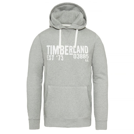 Men's Exeter River Hooded Sweatshirt Grey | Timberland