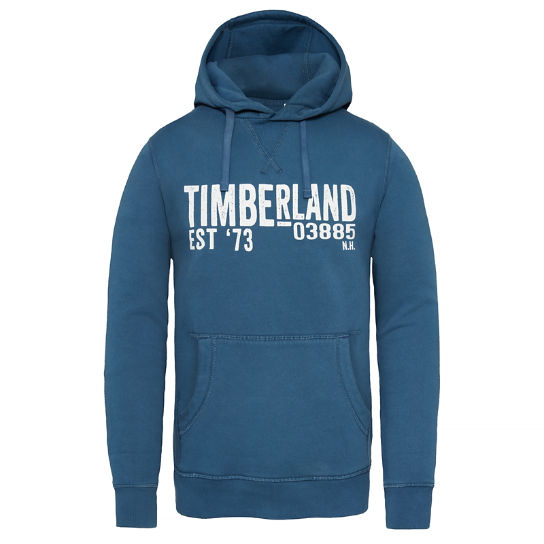 Exeter River Hooded Sweatshirt Homme Bleu marine | Timberland