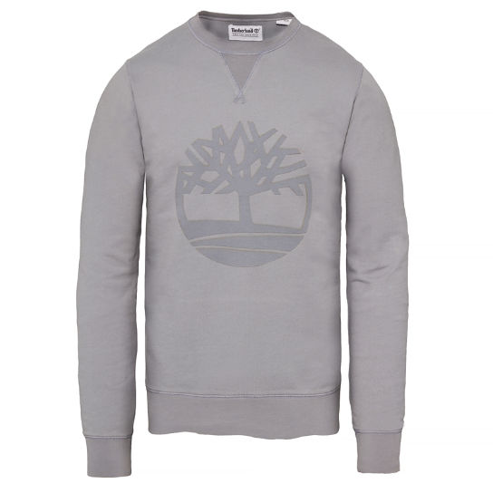 Men's Westfield River Tree Sweatshirt Grey | Timberland