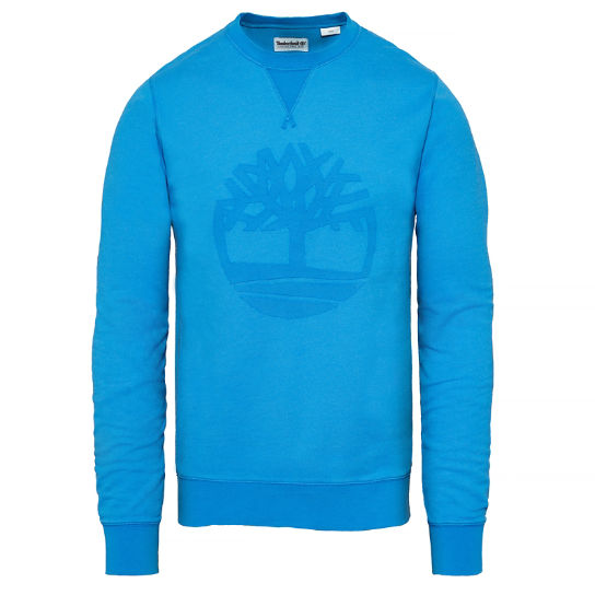 Men's Westfield River Tree Sweatshirt Blue | Timberland