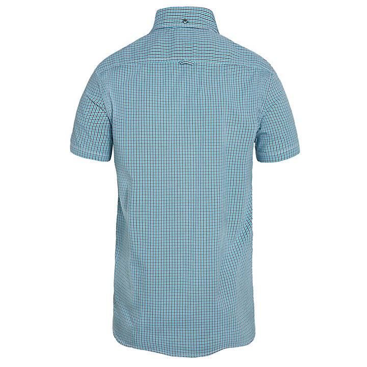 Herren Suncook River Gingham Shirt Türkis-