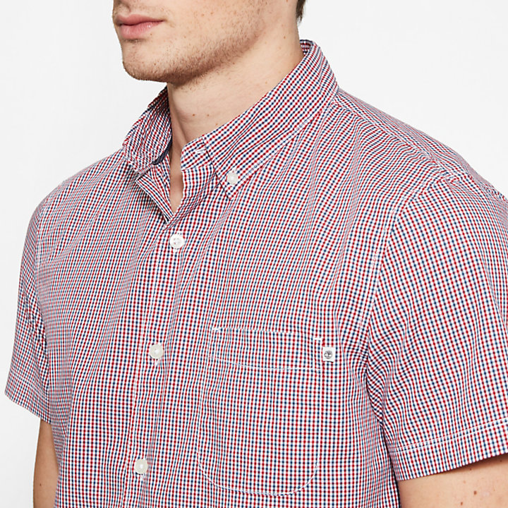 Suncook River Gingham Shirt Homme Bleu et rouge-