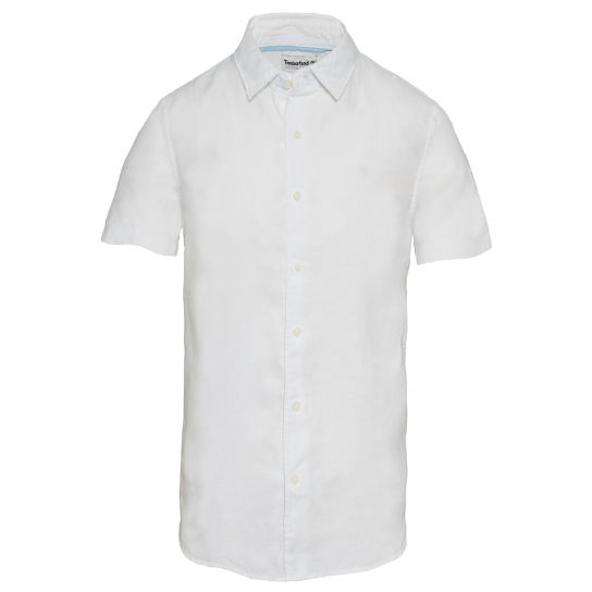Men's Mill River Linen Shirt White | Timberland