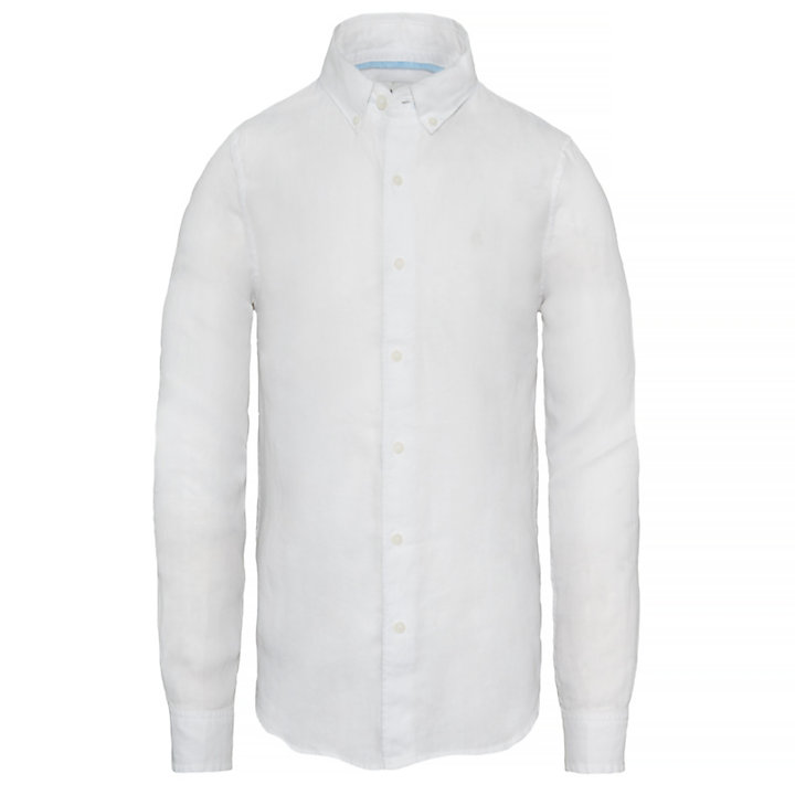 Mill River Linen Shirt Homme Blanc-
