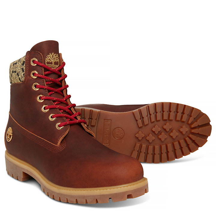Men's Chinese New Year 6-inch Boot Brown-