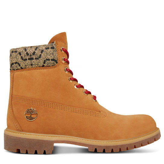 Men's Chinese New Year 6-inch Boot Yellow | Timberland