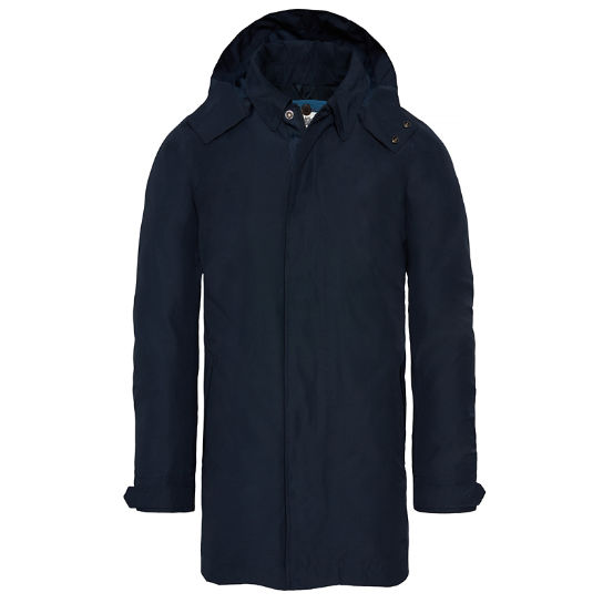 Men's Doubletop Mountain Raincoat Navy | Timberland