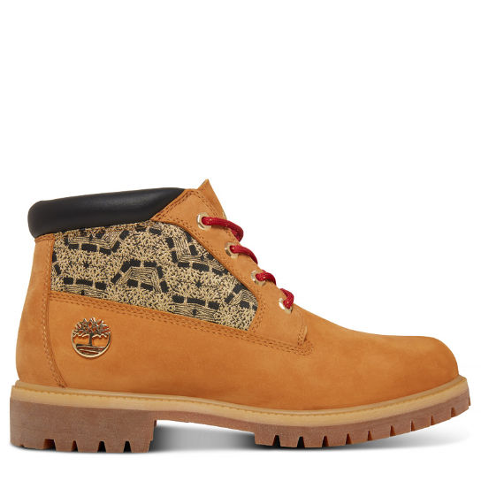 Men's Chinese New Year Premium Chukka Yellow | Timberland