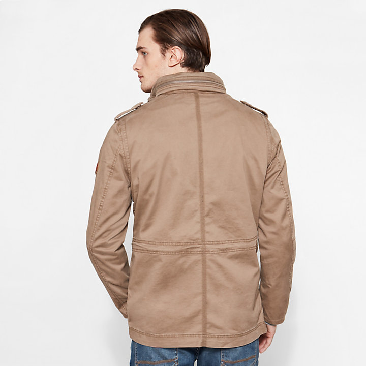Men's Crocker Mountain M65 Jacket Light Brown-
