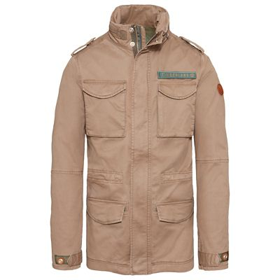 Crocker+Mountain+M65+Jacket+Marr%C3%B3n+Claro+Hombre