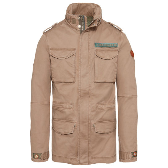 Men's Crocker Mountain M65 Jacket Light Brown | Timberland