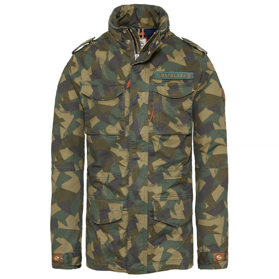 Men's Crocker Mountain M65 Jacket Camouflage | Timberland