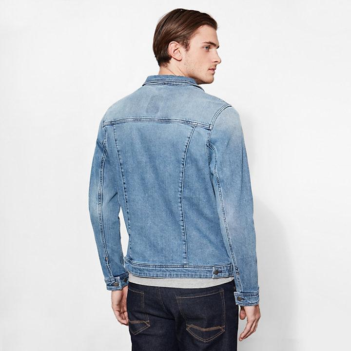 Men's Mount Moosilake Denim Jacket Blue-
