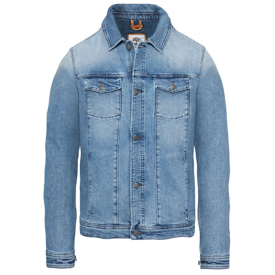 Mount Moosilake Denim Jacket Heren Blauw | Timberland