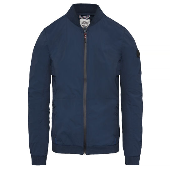 Herren Mount Bigelow Packable Bomber Jacket Navyblau | Timberland