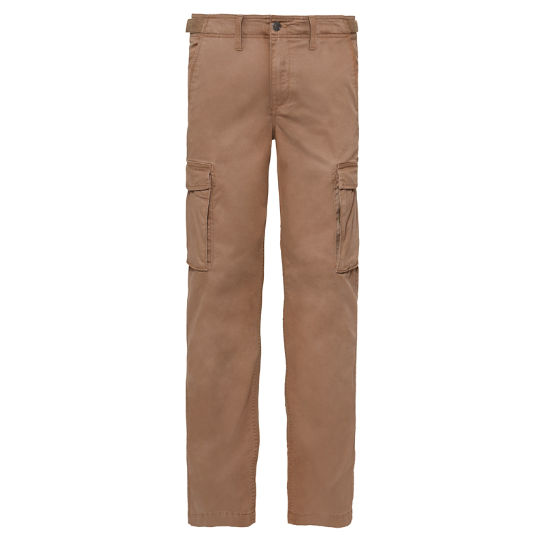 Men's Squam Lake Cargo Trousers Dark Beige | Timberland