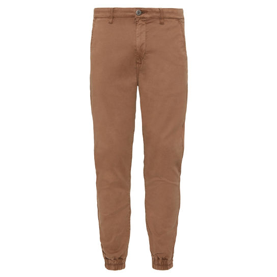Men's Lovell Lake Tapered Trousers Dark Beige | Timberland