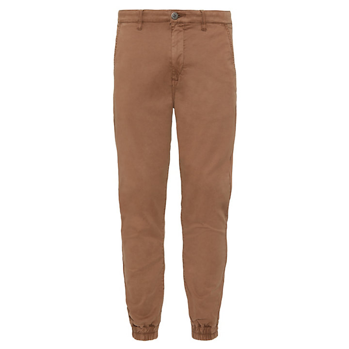 Lovell Lake Tapered Trousers Hombre Beis oscuro-