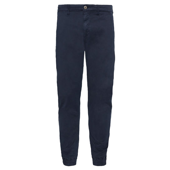 Men's Lovell Lake Tapered Trousers Navy | Timberland