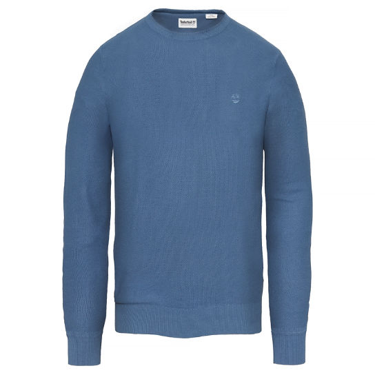 Men's Manhan River Crew Neck Sweater Dark Blue | Timberland