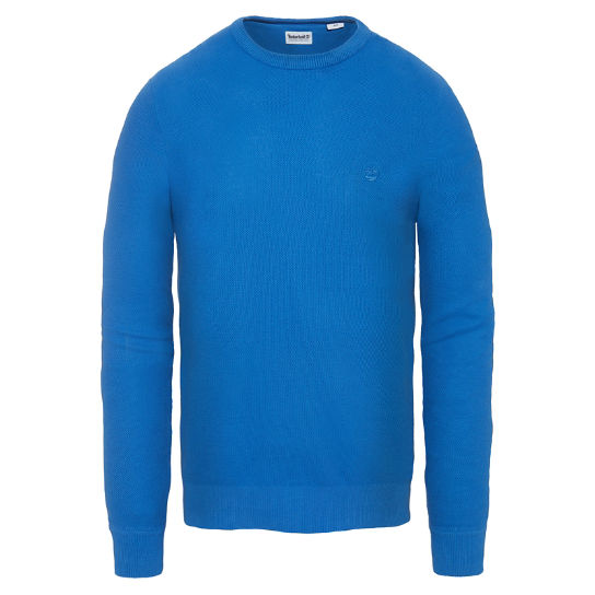 Men's Manhan River Crew Neck Sweater Blue | Timberland