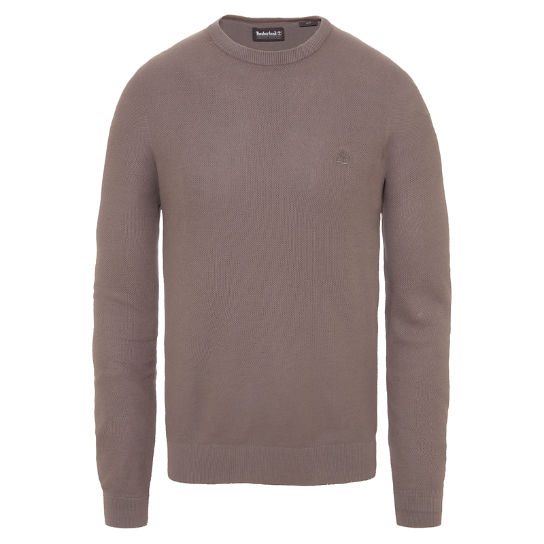 Men's Manhan River Crew Neck Sweater Dark Grey | Timberland