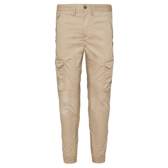 Profile Lake Tapered Trousers Heren Beige | Timberland