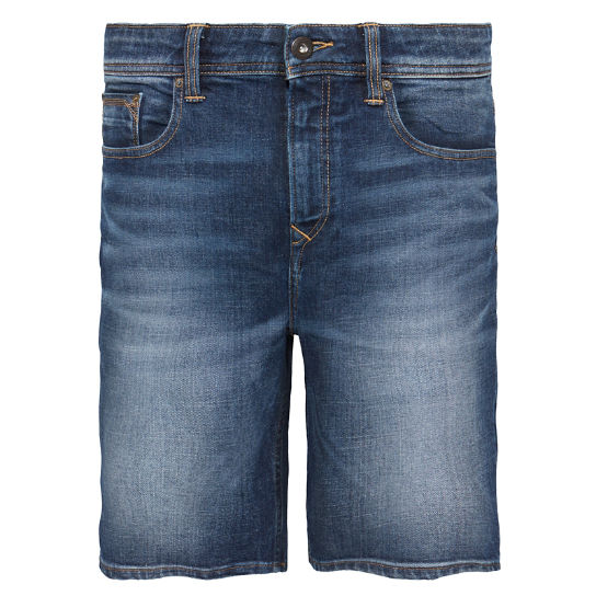 Canobie Lake Denim Shorts Uomo Indaco | Timberland
